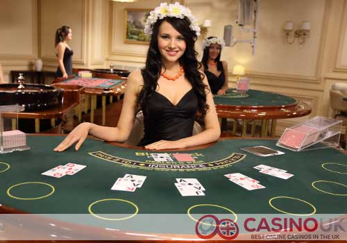 Blackjack with Live Dealers
