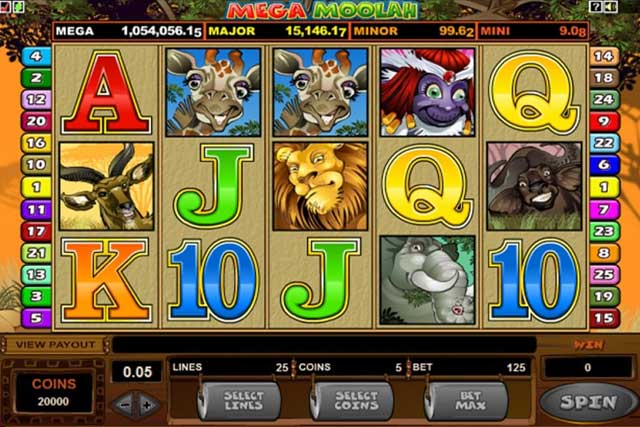 Mega Moolah Slots