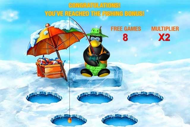 Penguin Vacation Slots: Bonus Games