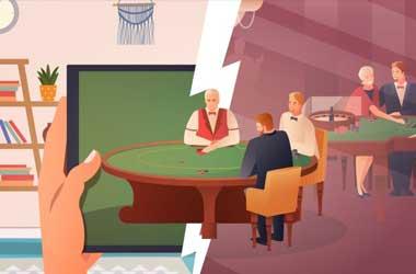 Online Poker vs Real Casino Poker
