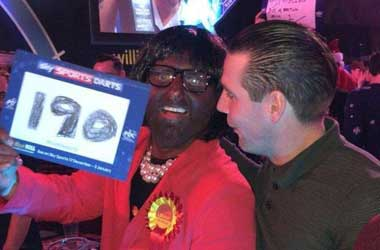 star sports bet pic posted of blacked up man as MP Diane Abbott