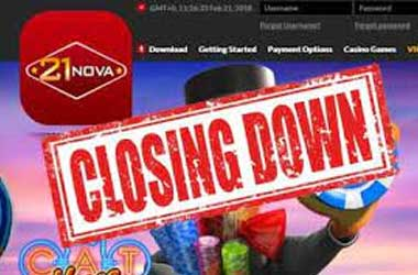 Time to Say Goodbye…to 21Nova Casino