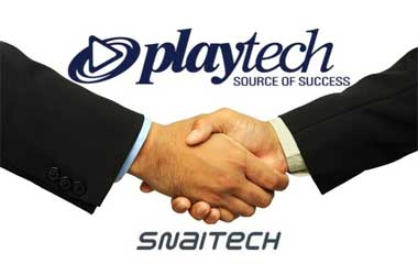 playtech acquires snaitech