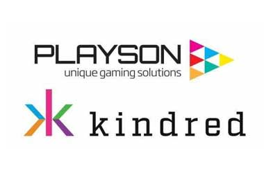 Playson Games Arrive at All Kindred Group Platforms